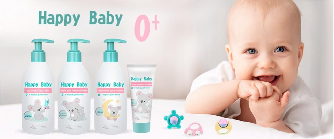 Happy Baby - нежный уход без слез
