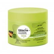 Бальзам для всех типов волос Keratin + протеины Кашемира Восстановление и объем (300 мл) на beluxshop.com