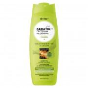 ШАМПУНЬ для всех типов волос Восстановление и объем, Keratin + протеины Кашемира (500 мл) на beluxshop.com