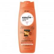 ШАМПУНЬ для всех типов волос Восстановление и зеркальный блеск, Keratin + жидкий Шелк (500 мл) на beluxshop.com