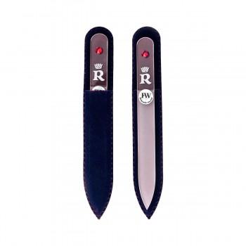 Пилочка для ногтей (R) BOHEMIA в бархатном чехле) на beluxshop.com